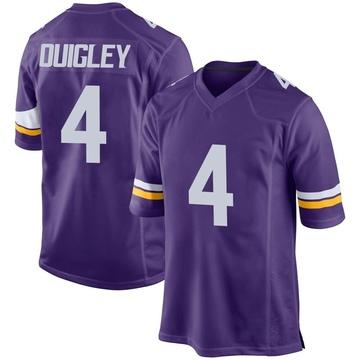 Youth Nike Minnesota Vikings Ryan Quigley Purple Team Color Jersey - Game