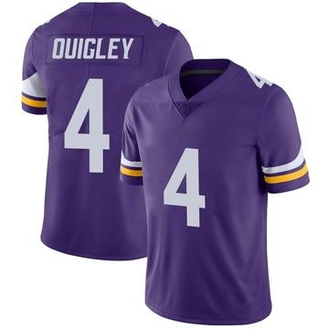 Youth Nike Minnesota Vikings Ryan Quigley Purple Team Color Vapor Untouchable Jersey - Limited