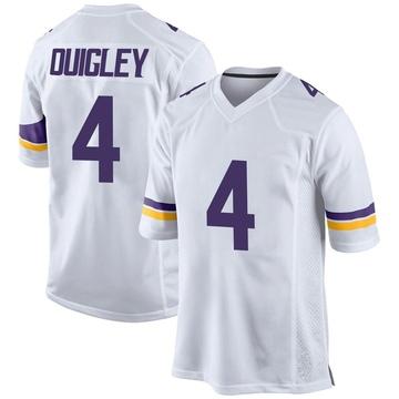 Youth Nike Minnesota Vikings Ryan Quigley White Jersey - Game