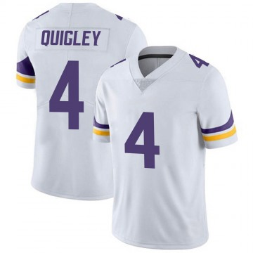 Youth Nike Minnesota Vikings Ryan Quigley White Vapor Untouchable Jersey - Limited