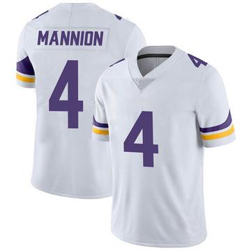 Youth Nike Minnesota Vikings Sean Mannion White Vapor Untouchable Jersey - Limited