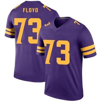 Youth Nike Minnesota Vikings Sharrif Floyd Purple Color Rush Jersey - Legend