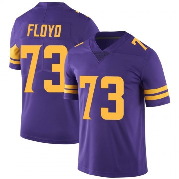 Youth Nike Minnesota Vikings Sharrif Floyd Purple Color Rush Jersey - Limited