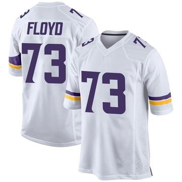 Youth Nike Minnesota Vikings Sharrif Floyd White Jersey - Game
