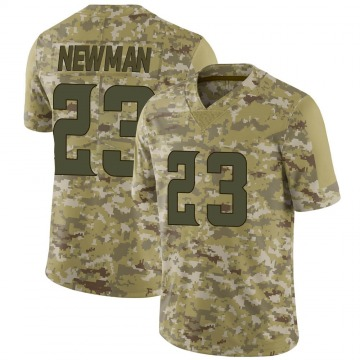 Youth Nike Minnesota Vikings Terence Newman Camo 2018 Salute to Service Jersey - Limited