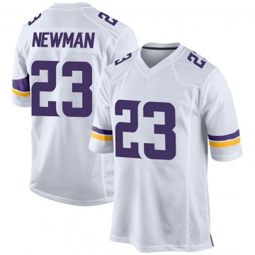 Youth Nike Minnesota Vikings Terence Newman White Jersey - Game