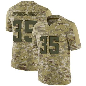 Youth Nike Minnesota Vikings Tony Brooks-James Camo 2018 Salute to Service Jersey - Limited