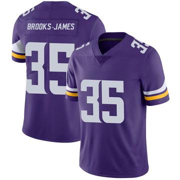 Youth Nike Minnesota Vikings Tony Brooks-James Purple 100th Vapor Jersey - Limited