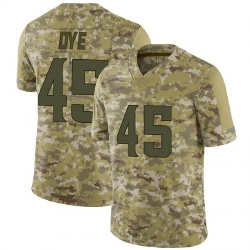 Youth Nike Minnesota Vikings Troy Dye Camo 2018 Salute to Service Jersey - Limited