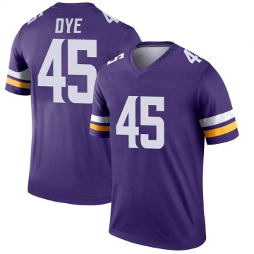 Youth Nike Minnesota Vikings Troy Dye Purple Jersey - Legend