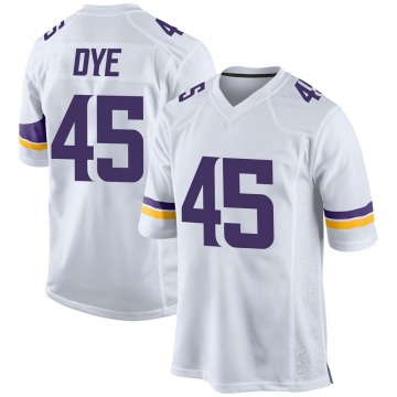 Youth Nike Minnesota Vikings Troy Dye White Jersey - Game
