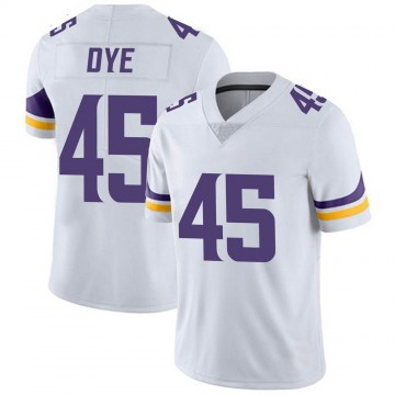 Youth Nike Minnesota Vikings Troy Dye White Vapor Untouchable Jersey - Limited