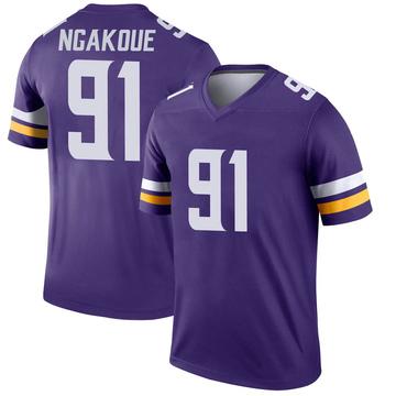 Youth Nike Minnesota Vikings Yannick Ngakoue Purple Jersey - Legend